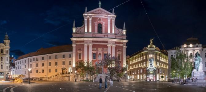 Ljubljana im Mai