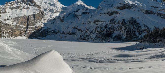 Winter am Oeschinensee