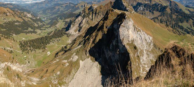 Über dem Brecca-Schlund